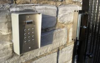 Gates Keypad Entry Somerset