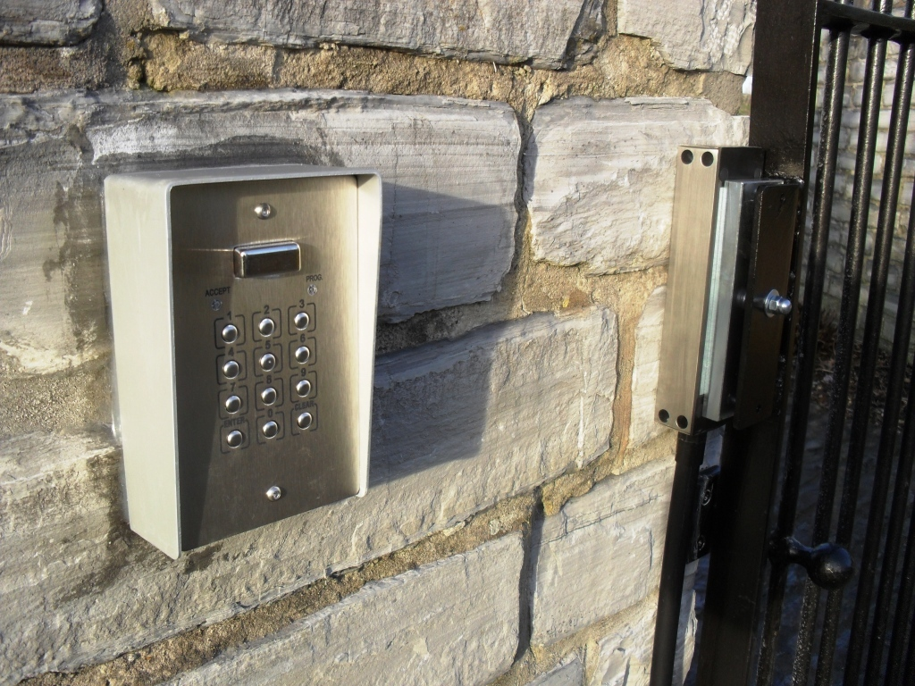 Gates Keypad Entry Somerset
