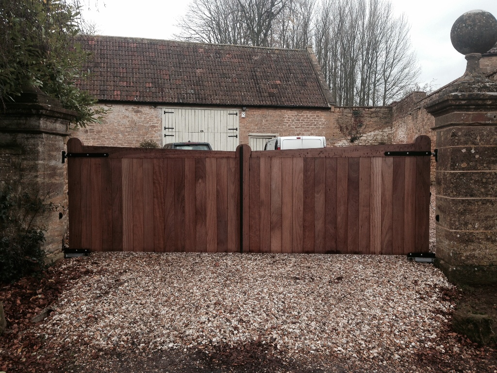 Wooden Automatic Gates Yeovil