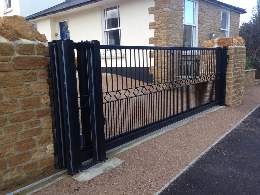 Automatic Sliding Gate Dorset